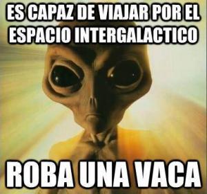 alien vaca