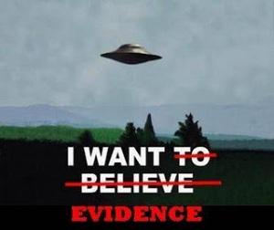 I want Evidence